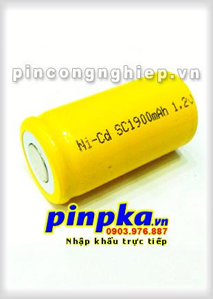 Pin Sạc Công Nghiệp-Pin Cell 1,2v NiCD SC 1900mAh